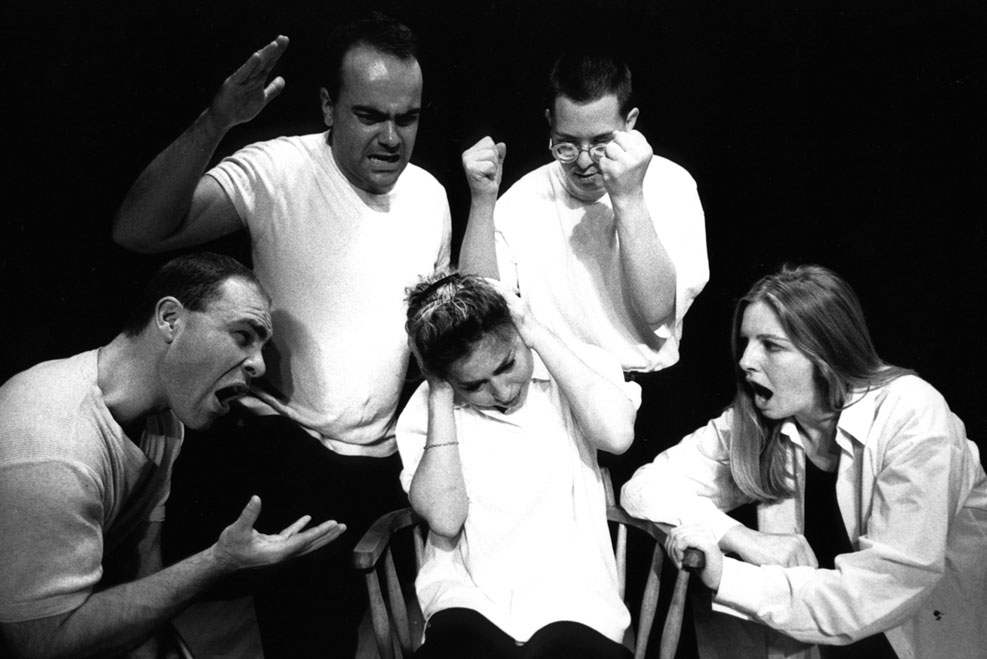 Face Front's first production 'Who Cares' in 2001