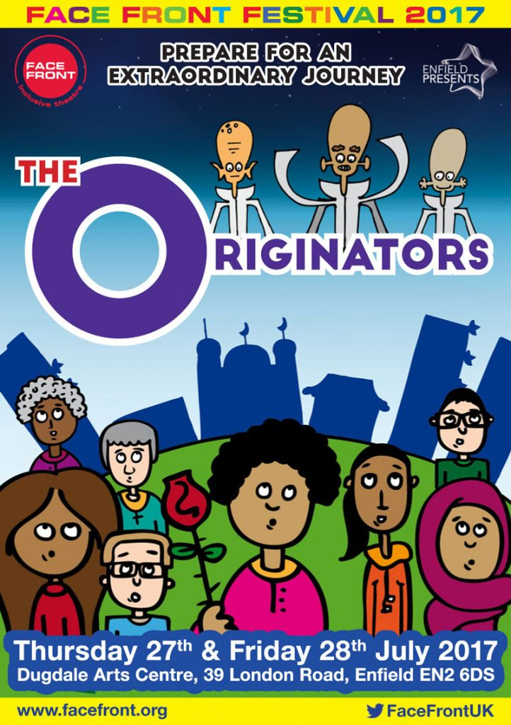 The Originators Play Flyer